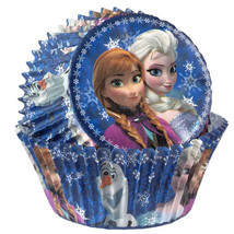 Disney Frozen 50 Baking Cups Party Cupcakes Treats Wilton - £2.16 GBP