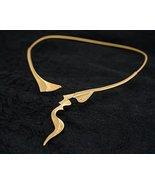 JenniferLove Open Necklace Elegant Women Statement Rhodium Plated - Clas... - $133.16