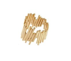 JenniferLove Women Ring Gold Geometric Sticks Plated Statement Stick Han... - $59.09
