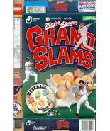 general mills grand slam baseball cereal box frank thomas mike piazza ma... - $19.99