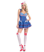 Sexy Be Wicked On Deck Sailor Halloween Costume... - $48.00 - $54.00