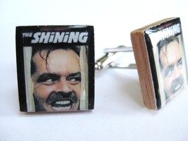 Mens Cufflinks THE SHINING Jack Nicholson HERE'S JOHNNY!!! by DandanDesigns - $12.87