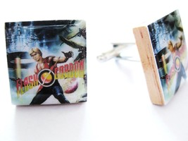 Flash Gordon Cufflinks ~ Retro Movie Cufflinks handmade by DandanDesigns - $11.23
