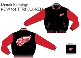JH Design Detroit Redwings Two Tone Reversible Jacket - $109.95