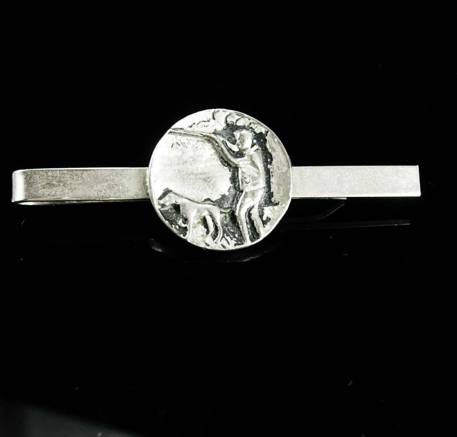 how to make a coin tie clip