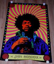 Jimi Hendrix Poster Vintage 1960's Psychedelic ... - $149.99