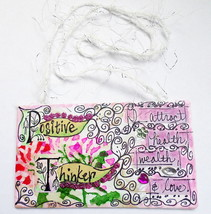 Motivational Healing Words Art Mini Hanging Mix... - $7.00