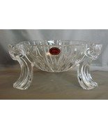 "1999 GORHAM Crystal 8"" Scroll Centerpiece Victorian Candle Holder  - $19.99"