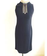 Ralph Lauren Sleeveless Black Dress with Black Rhinestone Sides Size 4 - $29.99