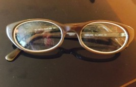88b805ef8ed VTG Calvin Klein Khaki Eyeglass Frames Made in Japan -  98.01