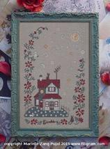Moonlight cross stitch chart Filigram - $9.90
