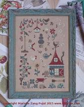 In My Garden There Is cross stitch chart Filigram - $9.90