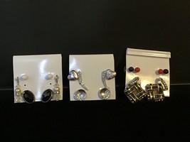 Lot of 10 vintage Pierced earrings (1344) - $10.00