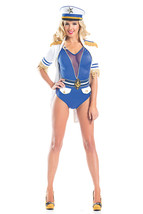 Sexy Be Wicked Shipmate Matey Sailor Romper Halloween Costume W/WO HAT B... - $71.00+