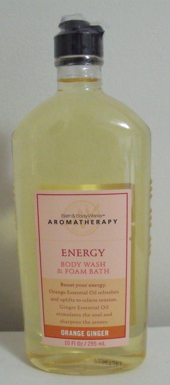 Bath and Body Works New Aromatherapy Orange Ginger Body Wash 10 oz Bath & Body Works