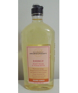 Bath and Body Works New Aromatherapy Orange Ginger Body Wash 10 oz - $8.95