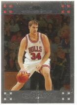 Aaron Gray Topps Chrome 07-08 #122 Rookie Card Chicago Bulls Detroit Pistons - $0.20