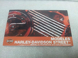 2015 Harley Davidson New Street Models French Owner'S Manual 99472 15 Fra - $30.67