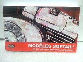 2015 Harley Davidson NEW Softail Models FRENCH Owner's Manual 99469-15FR - $30.67