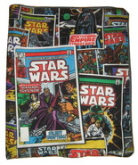 MARVEL COMICS STAR WARS EMPIRE STRIKES BACK COTTON DENIM COLLAGE BOOK CO... - $6.00