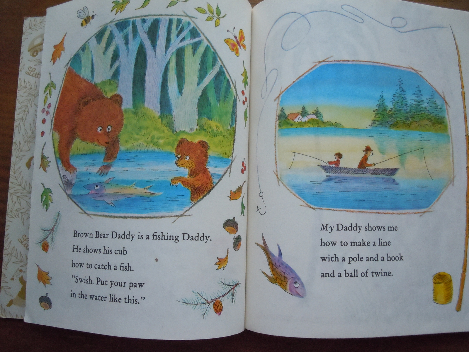 Animal Daddies and My Daddy by Barbara Shook Hazen Golden Book