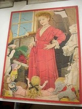 Vintage, Board Puzzle -Victorian Girl with Her Dolls - $14.20