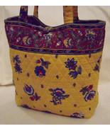 Vera Bradley Handbag/Shoulder Bag.  Multi-Color 100% Cotton  Made in USA - $19.95