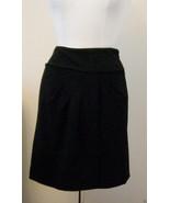DVF  Diane Von Furstenberg  Black Skirt, Size- 6 - $37.36