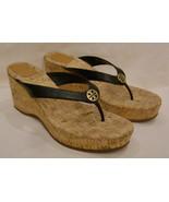 Tory Burch Platform/Open Toe Sandals Size- 10M  Black - $121.51