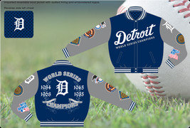 JH Design Detroit Tigers Adult Wool World Series Jacket - $149.95