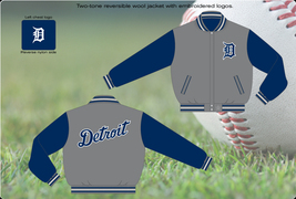 Detroit Tigers Wool Reversible Jacket - $109.95