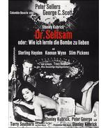 Dr. Strangelove Movie Poster 27x40 inches German Peter Sellers Stanley Kubrick  - £25.44 GBP