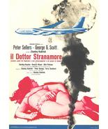 Dr. Strangelove Movie Poster 27x40 inches Italian Sellers Stanley Kubrick OOP - £25.44 GBP