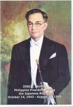 PHILIPPINES BIOGRAPHY: JOSE P LAUREL Pres. in Japanese Regime, English/T... - $3.95