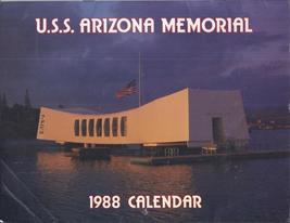 U.S.S. ARIZONA MEMORIAL 1988 CALENDAR & TOUR BBROCHURE - $4.95
