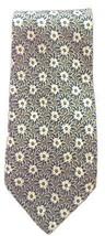 """Giorgio Armani Cravatte Striped Silk Olive Green Blue Tan Floral Neck Tie 3.5"""" - $14.52"""