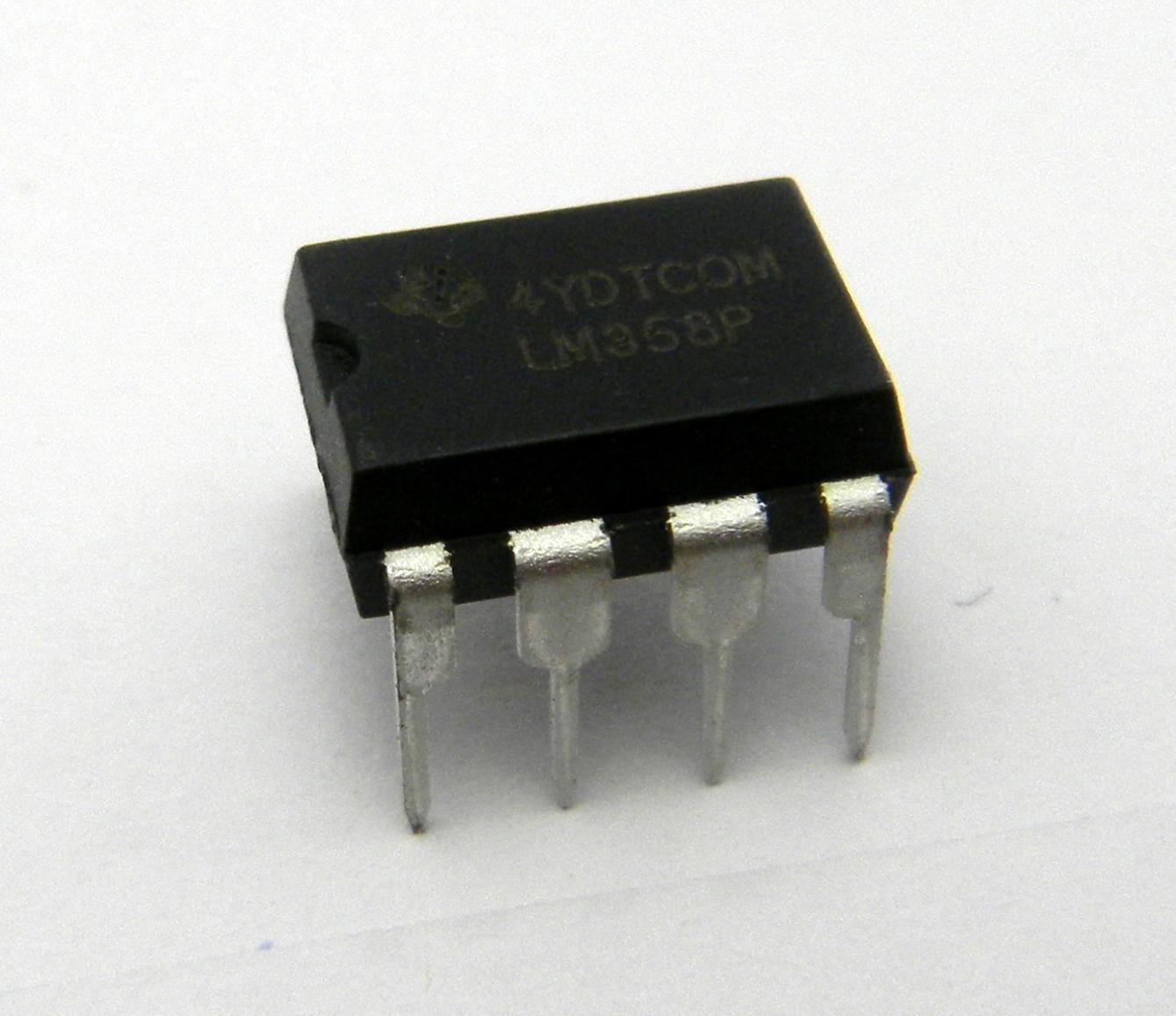 10 x Texas Instruments LM358P - Free Shipping - New and Authentic - USA Seller