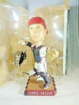2009 AZ Diamondbacks CHRIS SNYDER Catcher Bobblehead With Mask SGA NIB - $11.29