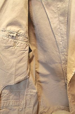 Original ZARA Men's Fall Light Khaki Blazer- X-MEN Print Size XL