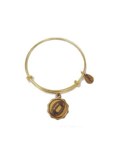 Bella Ryann Gold-Plated Football Charm Bracelet