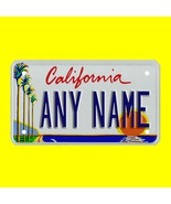 Custom Personalized motorcycle license plate, scooter license plate, mop... - $11.99