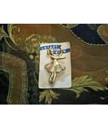 SALE! Vintage 1940s - 1950s Dancing Ballerina Brooch Five-and-dime Store... - $8.99