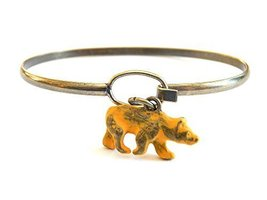 Bear Charm Bracelet (Yellow)