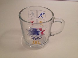 1984 Olympics Los Angeles McDonald's DRINKING Glass Cup Mug Games XXIII ... - $20.90