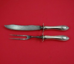 Mount Vernon by Lunt Sterling Silver Steak Carving Set 2pc w/Carbon Stee... - $109.00