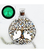 Glow In The Dark Tree Of Life Necklace - $9.99