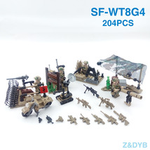 Special Forces Soldier Military Weapon Building Block compatible with LEGO - $39.90