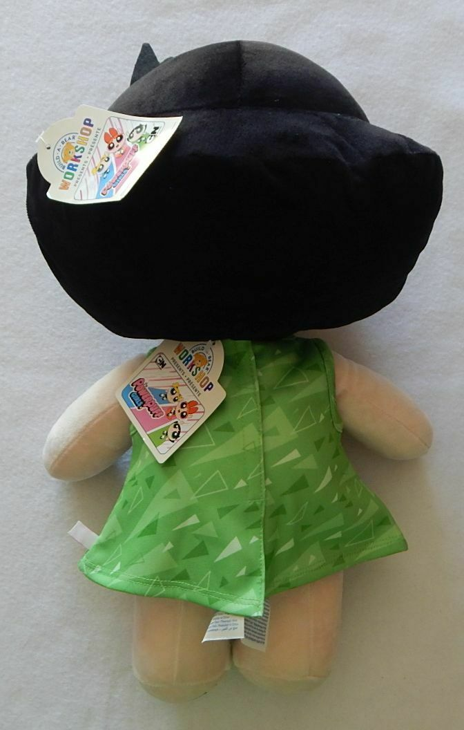 Primary image for NEW Build A Bear The Powerpuff Girls Buttercup Doll and Lime Green Dress NWT