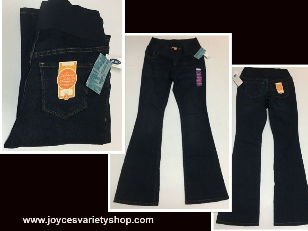 Old navy maternity jeans 2 web collage