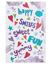 American Greetings Totally Awesome Valentine's Day Card with Foil, 6-Count - $7.94